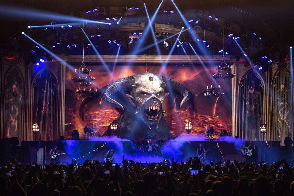 "Iron Maiden regresa a Latinoamérica bajo el «Legacy Of The Beast Tour"""
