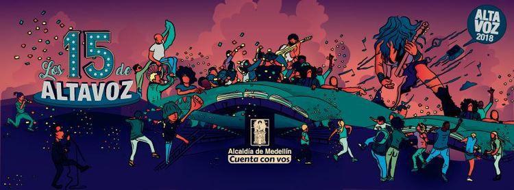 Los 15 de Altavoz Fest del 10 al 12 de noviembre en Medellín