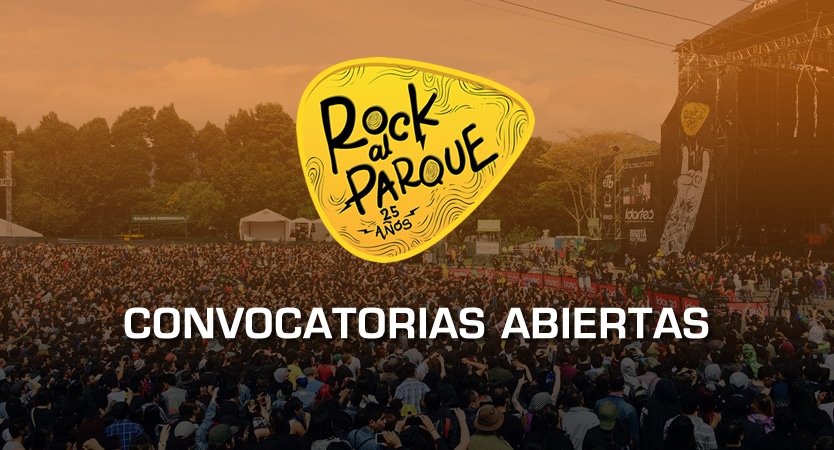 Convocatorias Rock al Parque 2019