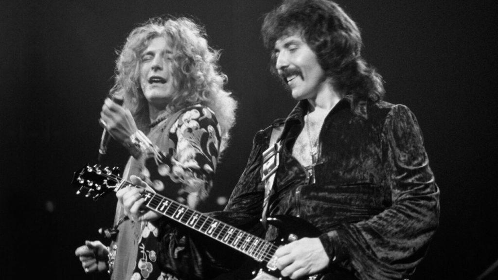 Grabación inédita de Black Sabbath y Led Zeppelin juntos en 1973