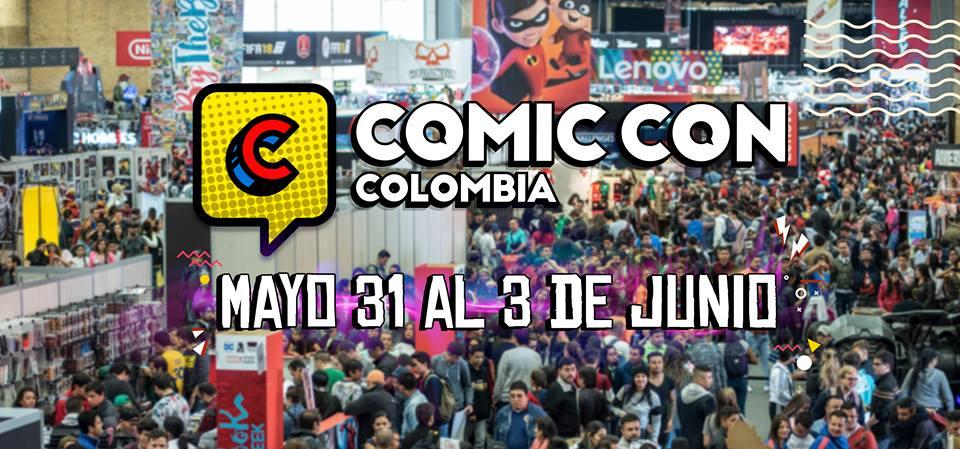 Comic Con en Bogotá del 31 de mayo al 3 de junio ¡Conoce los detalles!