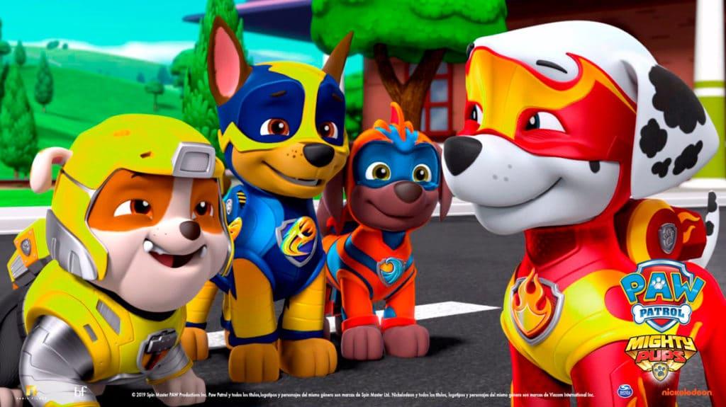El estreno de Paw Patrol: Mighty Pups marcará un precedente único en salas de cine