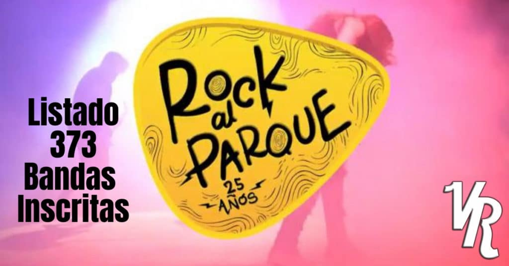 Estas son las 373 bandas distritales inscritas a Rock al Parque 2019