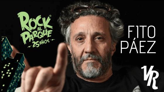El regreso de Fito Páez a Rock al Parque 2019