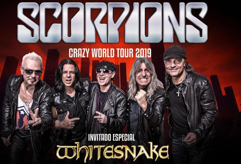 Dos grandes leyendas: Scorpions y Whitesnake en un solo escenario en Bogotá