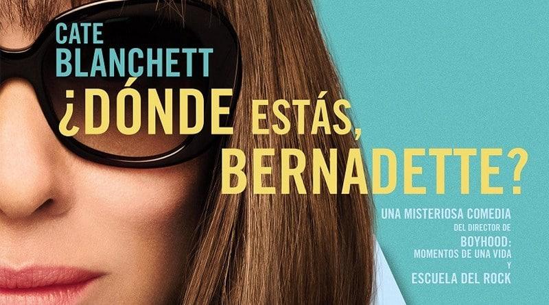 Cate Blanchett protagoniza ¿Dónde estás, Bernadette? , film basado en best seller