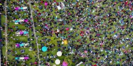 Más de 18 mil personas celebraron con Colombia al Parque 2019