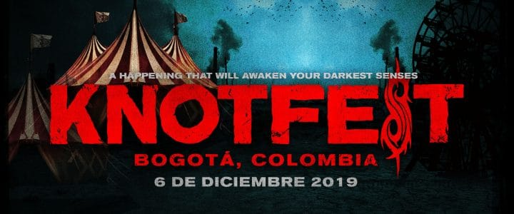 Knotfest-colombia 2019 cartel oficial