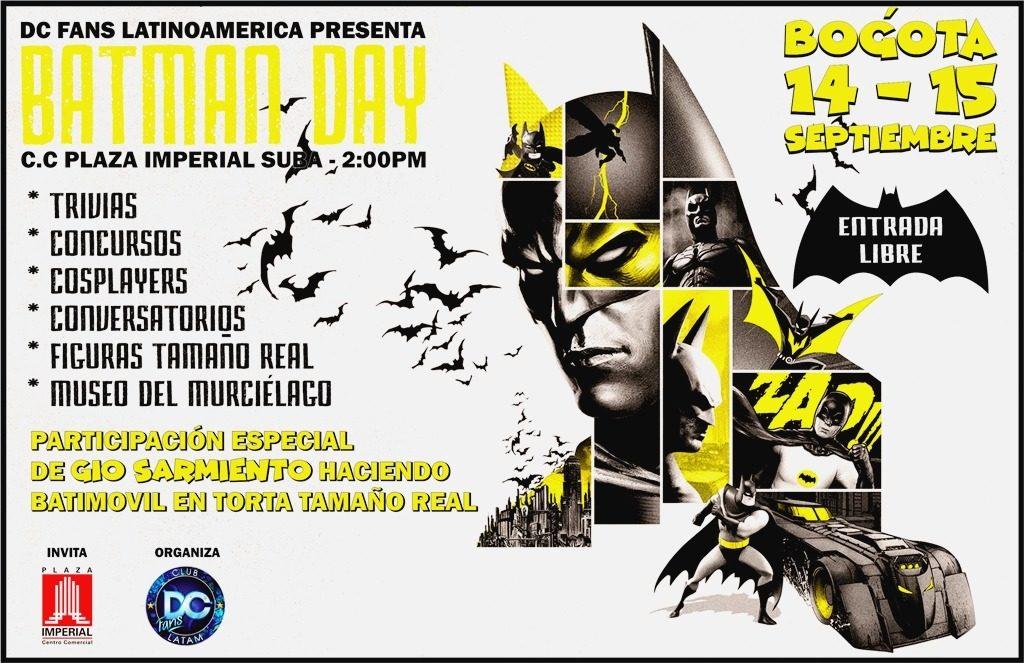 batmanday colombia club de fans dc comics colombia