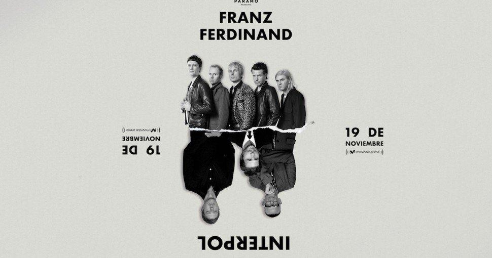 Interpol y Franz Ferdinand en un solo concierto en Bogotá