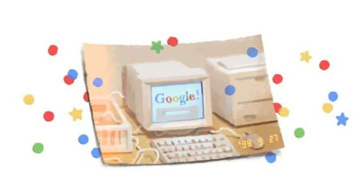 El gigante de Internet, Google cumple sus 21 y lo celebra con un doodle