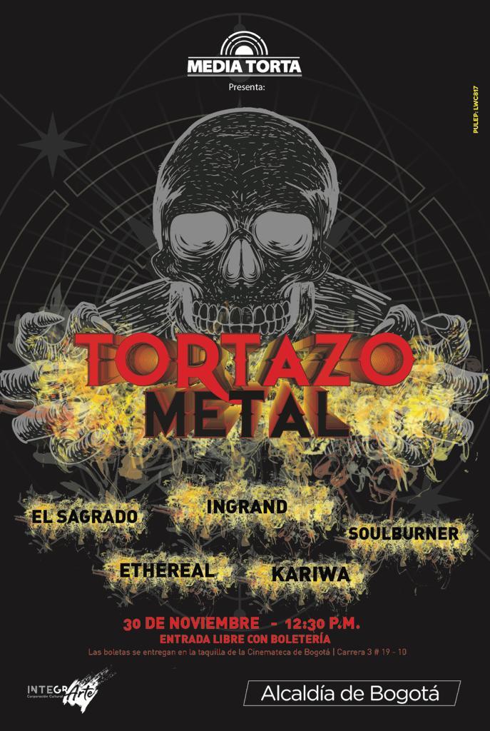 Tortazo Metal 2020 Mediatorta Bogota
