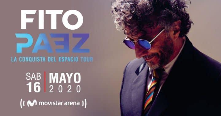 Fito Páez: La Conquista del Espacio Tour – 16 de mayo en Colombia