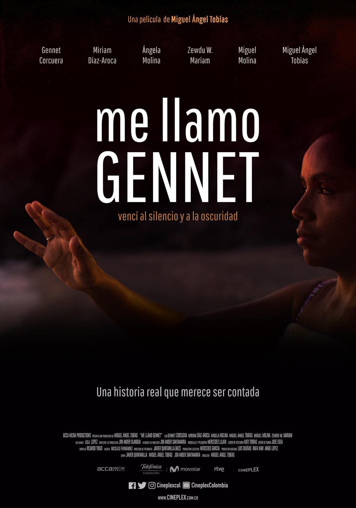me llamo gennet estreno pelicula