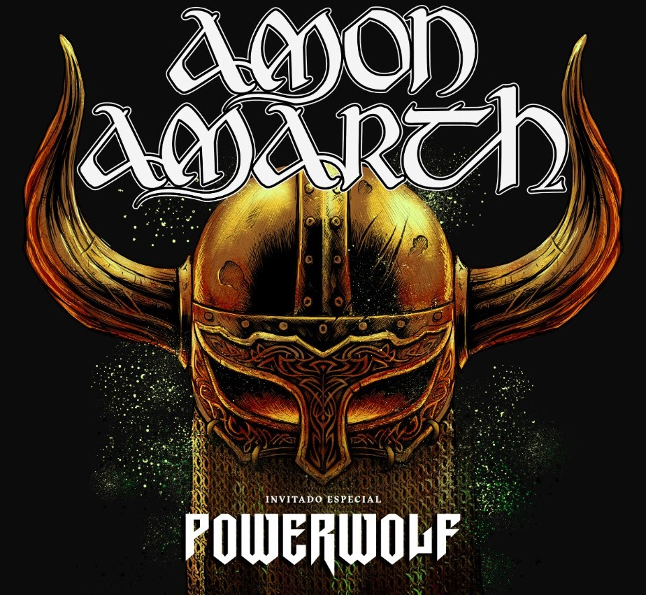 amon amarth y powerwolf en colombia 2020