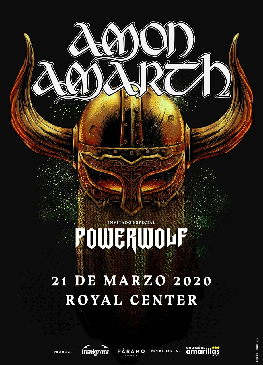 amon amarth y powerwolf