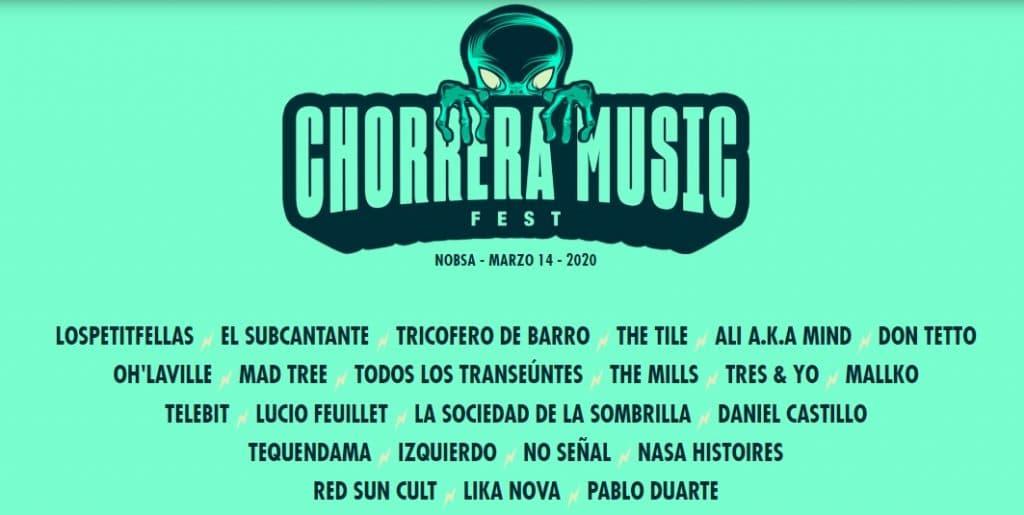 Chorrera Music Fest el 14 de marzo