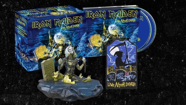 "Iron Maiden reedita sus conciertos ""Live After Death"" y ""Rock In Rio"" en digipack"