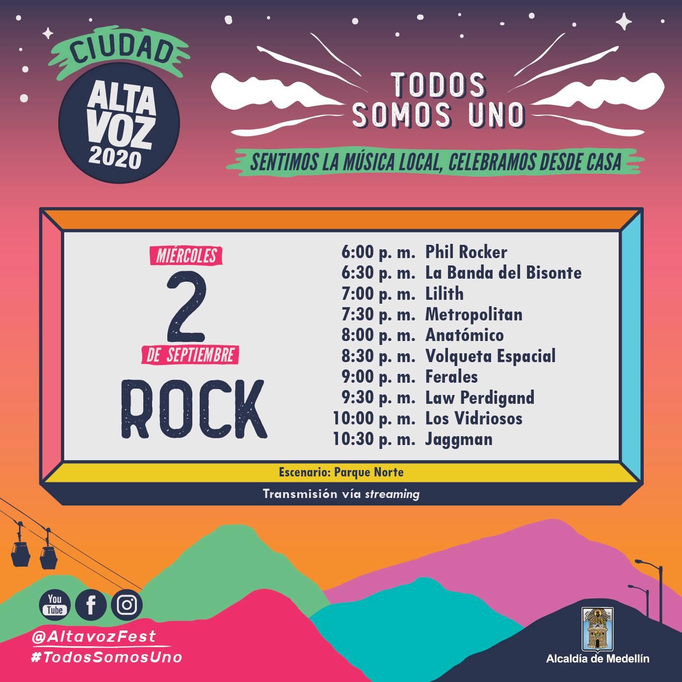 festival altavoz 2020 vitrina rock