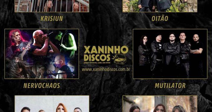 Álbumes de los íconos del metal obtienen una edición especial a través de Xaninho Discos