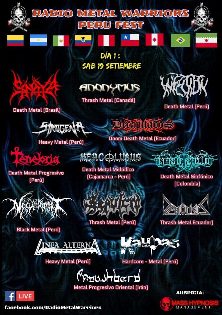 Radio Metal Warriors Perú Fest