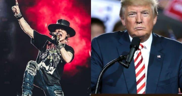 """Donald Trump cree que """"November Rain"""" de Guns N´Roses tiene el mejor vídeo musical de la historia"""