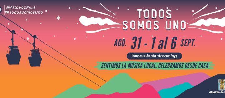 Más días para disfrutar desde casa el Festival Altavoz 2020