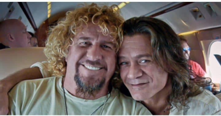 Sammy Hagar hizo las paces con Eddie Van Halen antes de su muerte