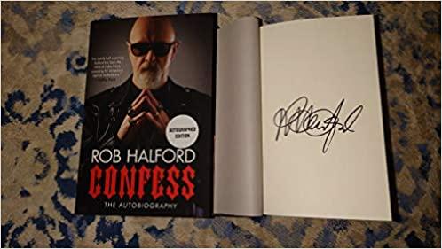 rob halford confess the autobiography vitrina rock