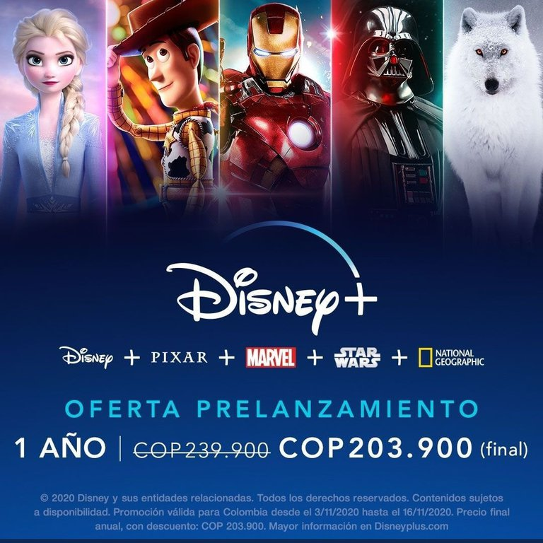 Disney Plus Ofertas