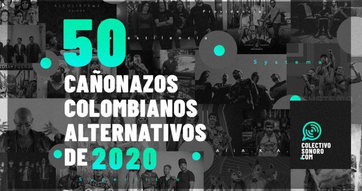 Las 50 canciones colombianas alternativas más importantes del 2020