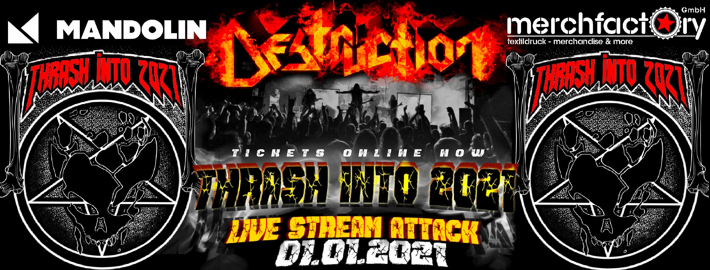 destruction live stream attack