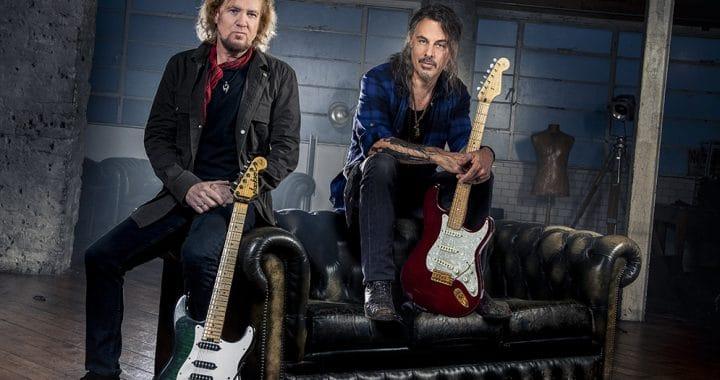 Adrian Smith (IRON MAIDEN) y Richie Kotzen (THE WINERY DOGS) lanzan single y fecha de su álbum debut