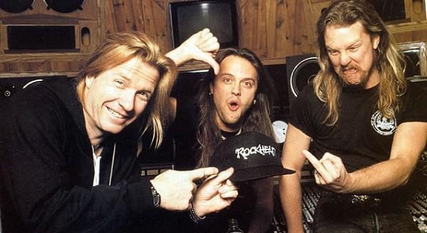 """Bob Rock cede los derechos del """"Álbum Negro"""" de Metallica"""