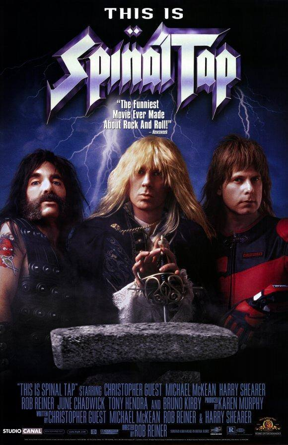 This is Spinal Tap pelicula vitrina rock