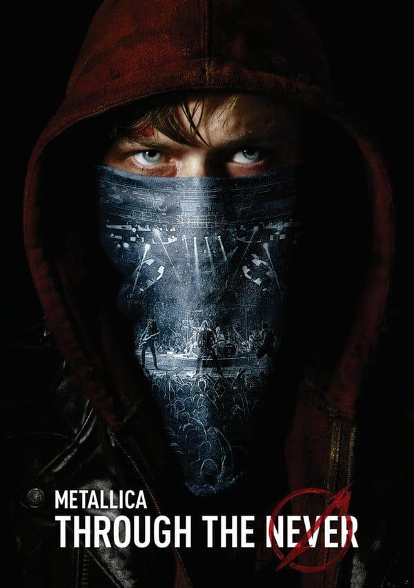 metallica through the never película vitrina rock